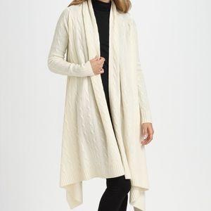 Ralph Lauren Blue Label Wool Cashmere Cable-Knit